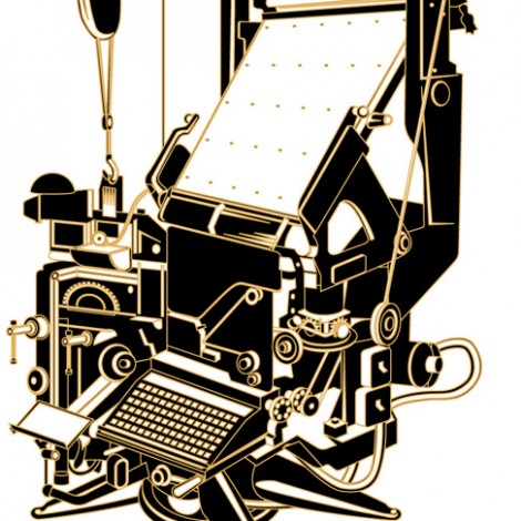 06 Linotype machine